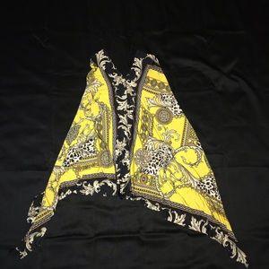 Fashion nova gold mine handkerchief dress